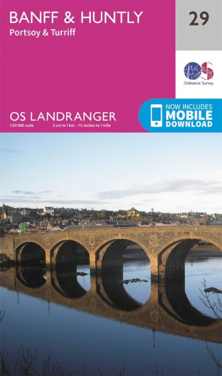 OS Landranger 29 - Banff and Huntley